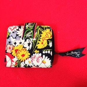 Vera Bradley Wallet Quilted Floral Print